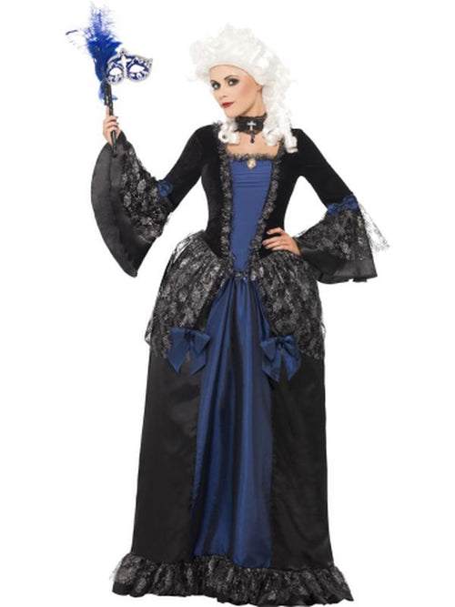 Baroque Beauty Masquerade Costume-Costumes - Women-Jokers Costume Hire and Sales Mega Store