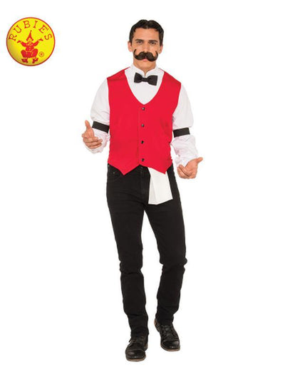 BARTENDER COSTUME - SIZE XL-Costumes - Mens-Jokers Costume Hire and Sales Mega Store