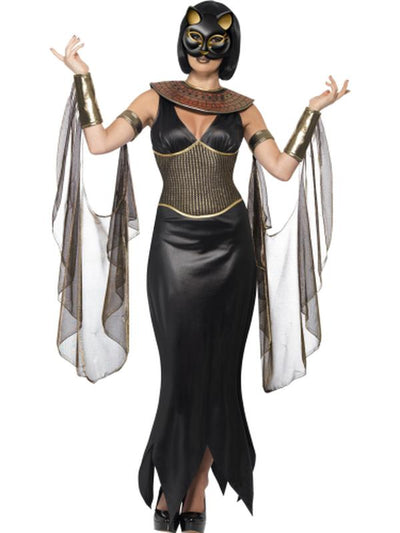 Bastet the Cat Goddess-Costumes - Women-Jokers Costume Hire and Sales Mega Store