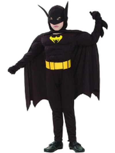 Bat Hero - Child - Medium***-Costumes - Boys-Jokers Costume Hire and Sales Mega Store