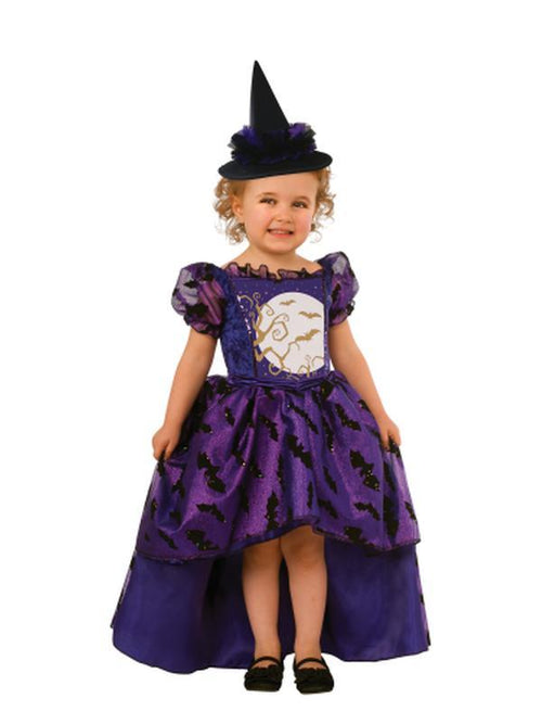 Bat Witch - Size S-Costumes - Girls-Jokers Costume Hire and Sales Mega Store