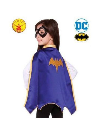 BATGIRL CAPE SET, Child - SIZE 6+-Costumes - Girls-Jokers Costume Hire and Sales Mega Store