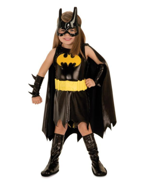 Batgirl Costume - Size Toddler-Costumes - Girls-Jokers Costume Hire and Sales Mega Store