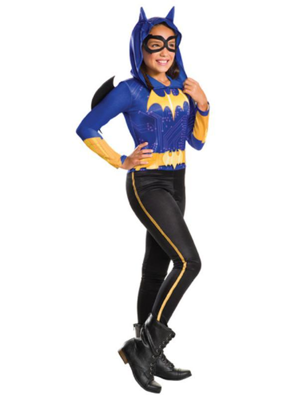 Batgirl Dcshg Classic - Size 6-8-Costumes - Girls-Jokers Costume Hire and Sales Mega Store