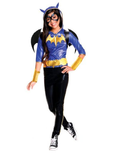 Batgirl Dcshg Deluxe - Size 6-8-Costumes - Girls-Jokers Costume Hire and Sales Mega Store