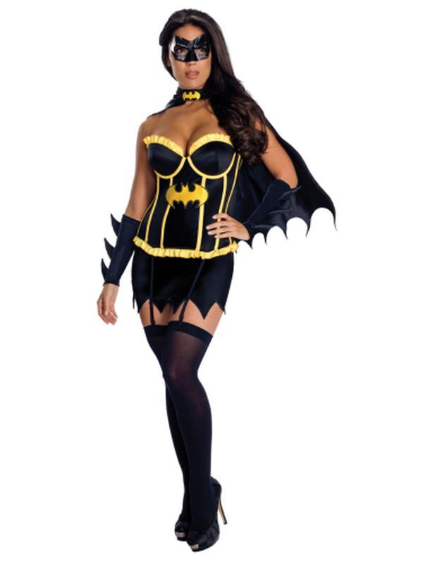 Batgirl Justic League Secret Wishes - Size L-Costumes - Women-Jokers Costume Hire and Sales Mega Store