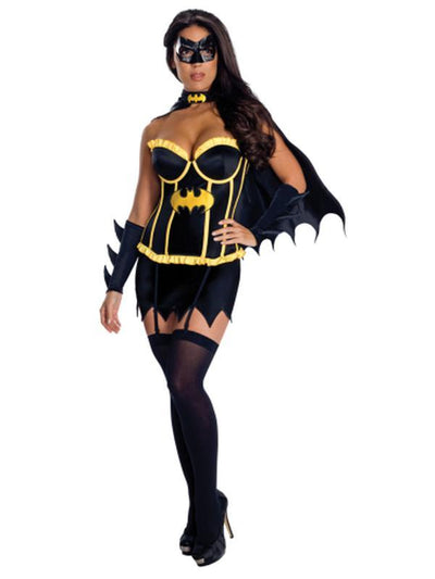 Batgirl Justic League Secret Wishes - Size L-Costumes - Women-Jokers Costume Mega Store
