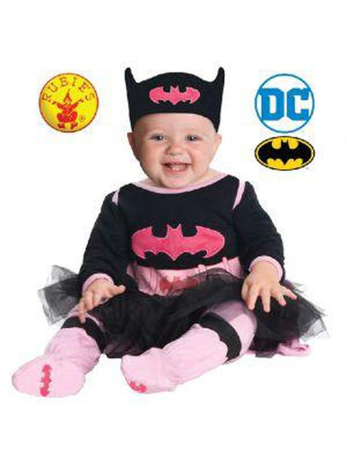 Batgirl Onsie - Size 6-12 Months-Costumes - Girls-Jokers Costume Hire and Sales Mega Store