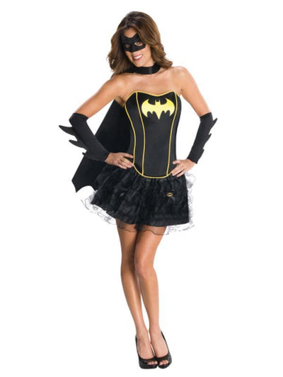 Batgirl Secret Wishes Corset/Skirt - Size M-Costumes - Women-Jokers Costume Hire and Sales Mega Store