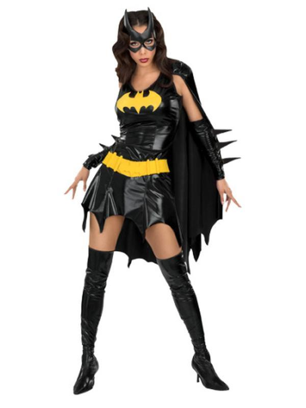 Batgirl Secret Wishes - Size M-Costumes - Women-Jokers Costume Hire and Sales Mega Store