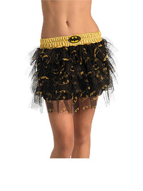 Batgirl Skirt With Sequins Teen - Size Std-Costumes - Girls-Jokers Costume Hire and Sales Mega Store