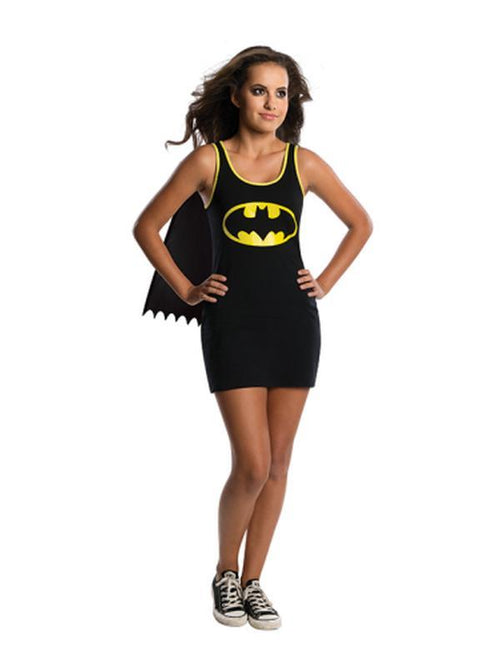 Batgirl Teen Tank Dress - Size S-Costumes - Girls-Jokers Costume Hire and Sales Mega Store