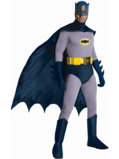 Batman 1966 Collector'S Edition - Size Xl-Costumes - Mens-Jokers Costume Hire and Sales Mega Store