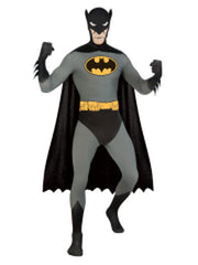 Batman 2Nd Skin Suit - Size L-Costumes - Mens-Jokers Costume Hire and Sales Mega Store
