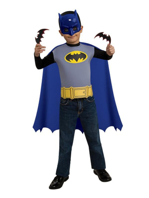 Batman Accessory Set Child - Size Std-Costumes - Boys-Jokers Costume Hire and Sales Mega Store