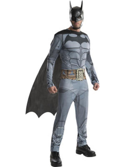 Batman Arkham Costume - Size M-Costumes - Mens-Jokers Costume Hire and Sales Mega Store