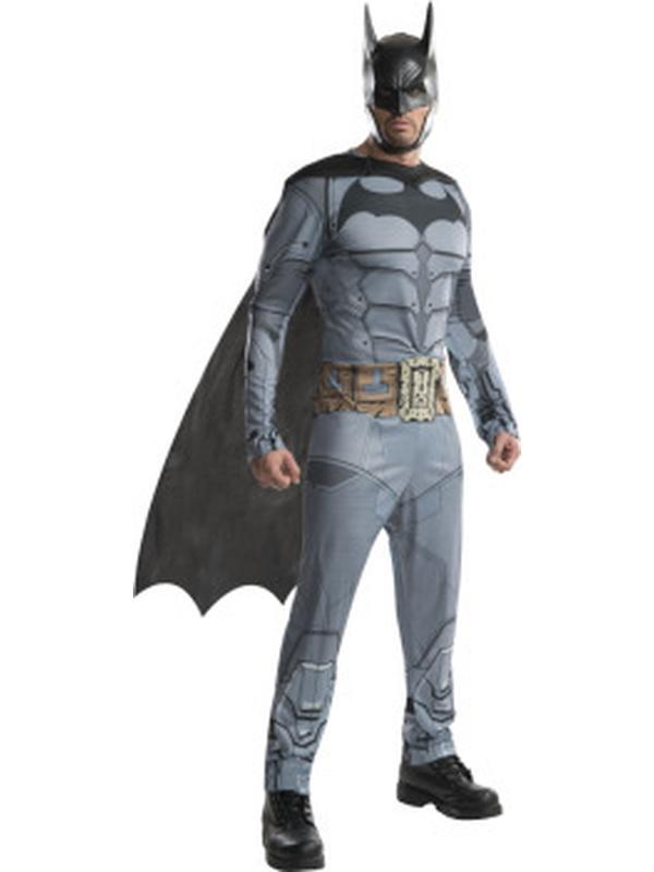 Batman Arkham Costume - Size Xl-Jokers Costume Mega Store