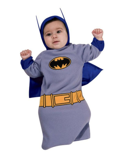 Batman Baby Onesie - Size 0-6 Months-Costumes - Boys-Jokers Costume Hire and Sales Mega Store