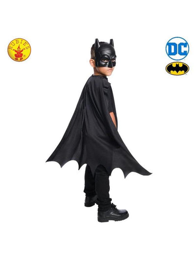 BATMAN CAPE & MASK SET, CHILD-Costumes - Boys-Jokers Costume Hire and Sales Mega Store