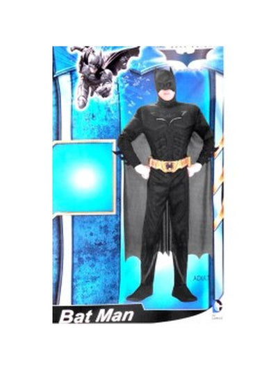 Batman Cape with attached mask-Costumes - Mens-Jokers Costume Hire and Sales Mega Store