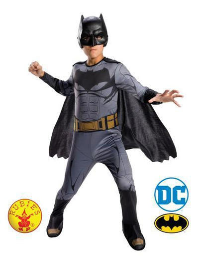 BATMAN CLASSIC COSTUME - SIZE 6-8-Costumes - Boys-Jokers Costume Hire and Sales Mega Store