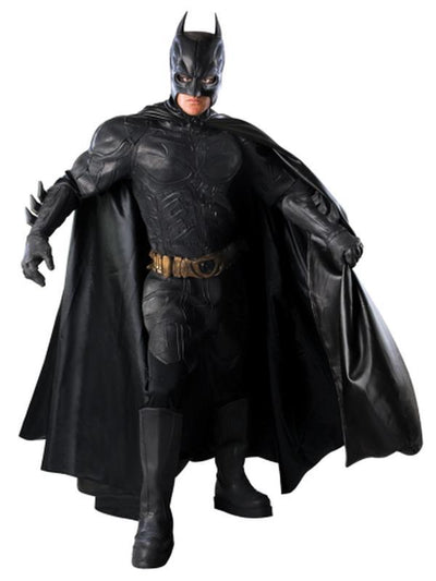 Batman Collector'S Edition- Size L (As 56311L)-Costumes - Mens-Jokers Costume Hire and Sales Mega Store