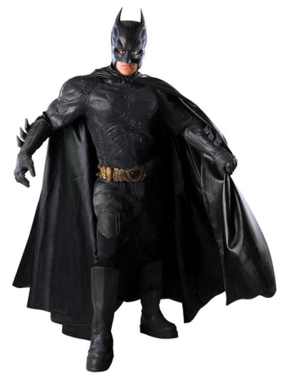 Batman Collector'S Edition - Size L (Was 56214L)-Costumes - Mens-Jokers Costume Hire and Sales Mega Store