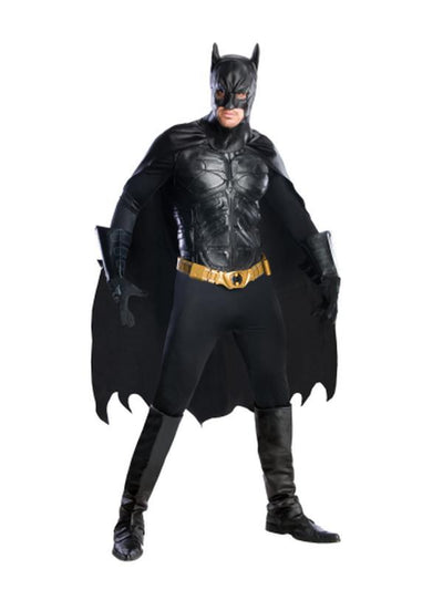 Batman Collector'S Edition - Size L-Costumes - Mens-Jokers Costume Hire and Sales Mega Store