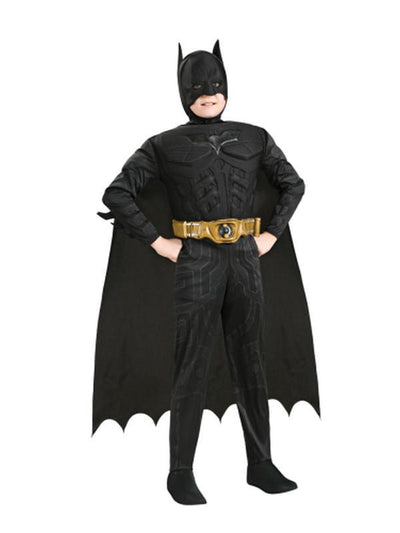 Batman Dark Knight Premium Costume - Size S-Costumes - Boys-Jokers Costume Hire and Sales Mega Store