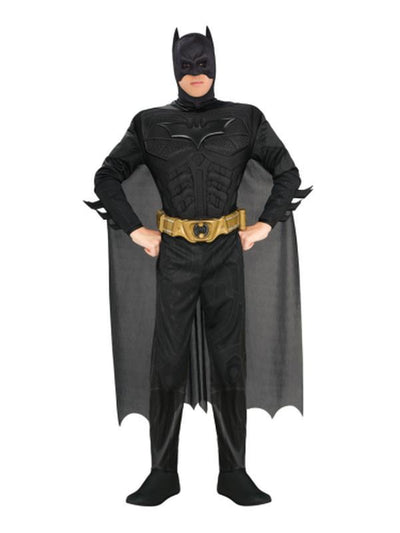Batman Dark Knight Rises Deluxe - Size L-Costumes - Mens-Jokers Costume Hire and Sales Mega Store