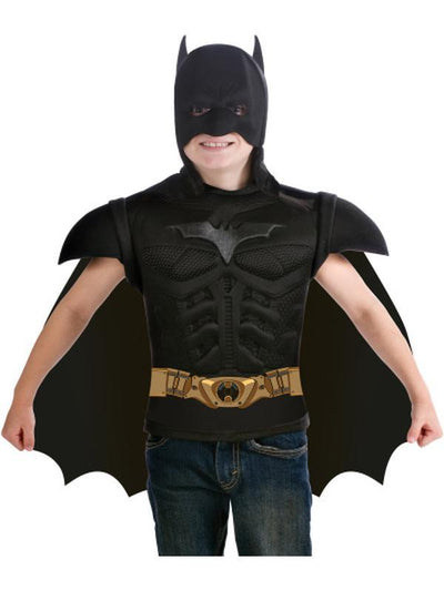 Batman Dark Knight Rises Dress Up Set- Size 3-6-Costumes - Boys-Jokers Costume Hire and Sales Mega Store