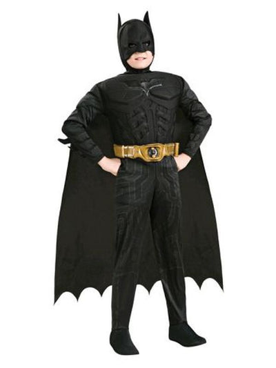 Batman Dark Knight - Size 6-8-Costumes - Boys-Jokers Costume Hire and Sales Mega Store