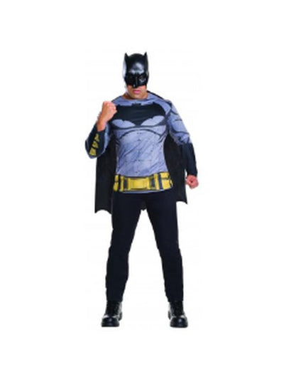Batman Dawn Of Justice Costume Top - Size Std-Costumes - Mens-Jokers Costume Hire and Sales Mega Store