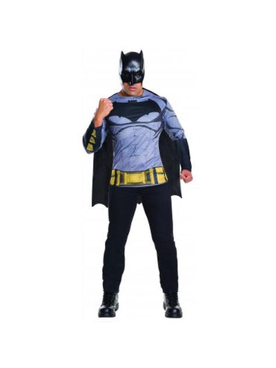 Batman Dawn Of Justice Costume Top - Size Xl-Costumes - Mens-Jokers Costume Hire and Sales Mega Store