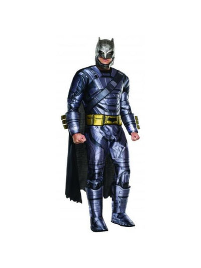 Batman Deluxe Armoured - Size Xl-Costumes - Mens-Jokers Costume Hire and Sales Mega Store