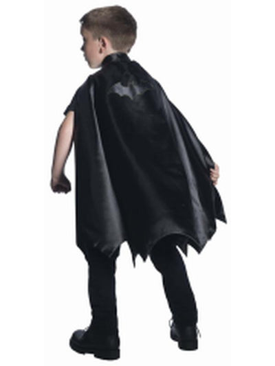 Batman Deluxe Cape Child-Costumes - Boys-Jokers Costume Hire and Sales Mega Store