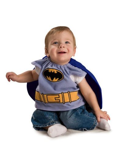 Batman Deluxe Costume Top - Size Newborn-Costumes - Boys-Jokers Costume Hire and Sales Mega Store