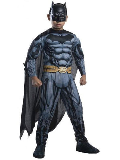 Batman Deluxe Digital Print Costume - Size 6-8-Costumes - Boys-Jokers Costume Hire and Sales Mega Store