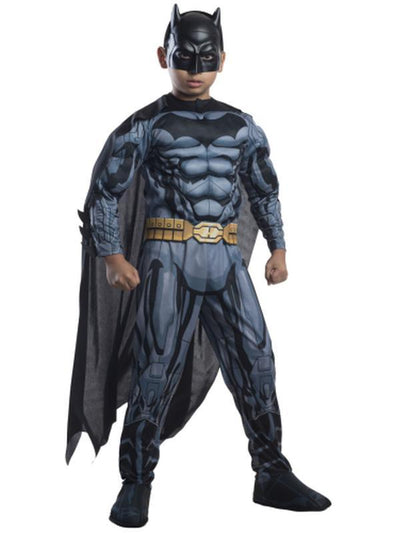 Batman Deluxe Digital Print Costume - Size L-Costumes - Boys-Jokers Costume Hire and Sales Mega Store