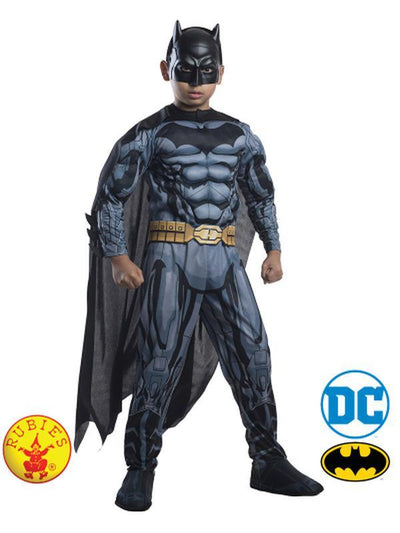 BATMAN DIGITAL PRINT DELUXE COSTUME - SIZE 6-8-Costumes - Boys-Jokers Costume Hire and Sales Mega Store