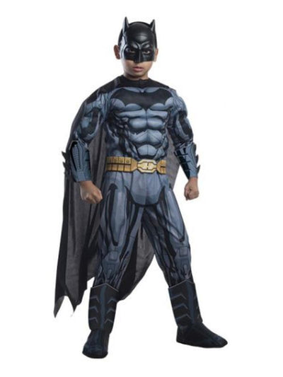 Batman Digital Print Super Dlx Costume - Size 3-5-Costumes - Boys-Jokers Costume Hire and Sales Mega Store