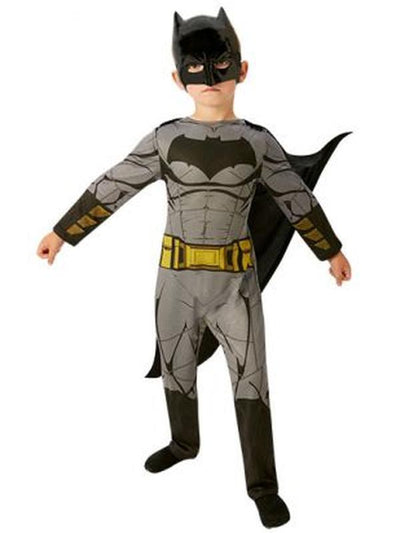 Batman Doj Classic Costume - Size 9-10-Costumes - Boys-Jokers Costume Hire and Sales Mega Store