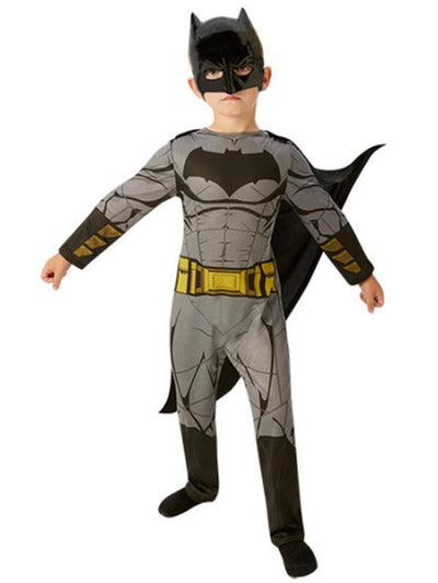Batman Doj Classic Costume - Size M-Costumes - Boys-Jokers Costume Hire and Sales Mega Store