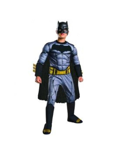 Batman Doj Deluxe Costume - Size 6-8-Costumes - Boys-Jokers Costume Hire and Sales Mega Store