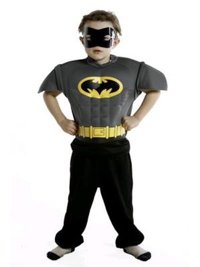 Batman Eva Costume Top - Size M-Costumes - Boys-Jokers Costume Hire and Sales Mega Store