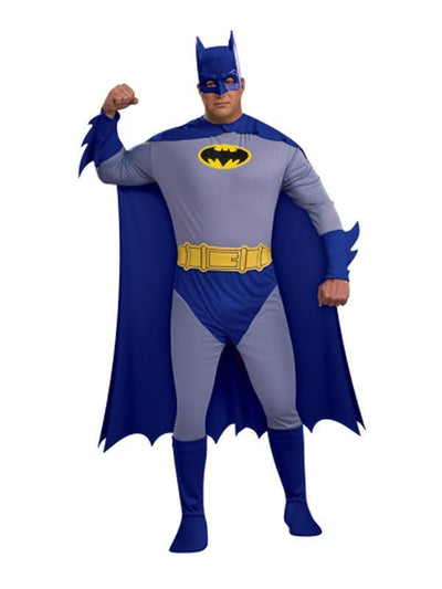 Batman Full Figure - Size Plus-Costumes - Mens-Jokers Costume Hire and Sales Mega Store