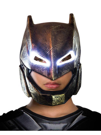 Batman Light Up Armoured Mask Adult-Masks - Basic-Jokers Costume Hire and Sales Mega Store
