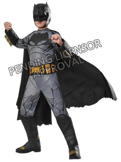 Batman Premium Costume - Size 6-8-Costumes - Boys-Jokers Costume Hire and Sales Mega Store