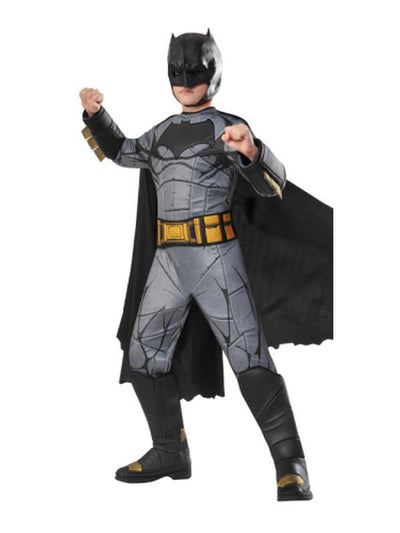 Batman Premium Doj Costume - Size 3-5-Costumes - Boys-Jokers Costume Hire and Sales Mega Store