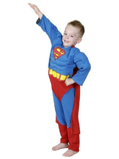 Batman To Superman Reversible - Size 4-6-Costumes - Boys-Jokers Costume Hire and Sales Mega Store
